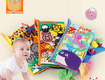 Sách vải đuôi 3D JOLLYBABY cao cấp cho bé