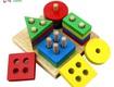 Đồ chơi xếp tầng thông minh kích thích trí não bé phát triển
