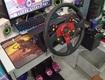 Vô lăng chơi game và học lái xe có trả lái