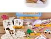 Bộ khuôn mẫu giúp bé tập vẽ