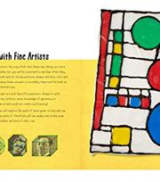 Bộ sách math art drawing games for kids
