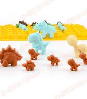 Khuôn silicon kẹo dẻo gummy 48 khủng long