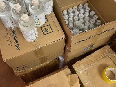 Thanh lý nước rửa tay MC pharma giá tốt 0