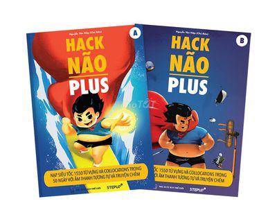 Hack Não Plus  trọn bộ 2 cuốn 0