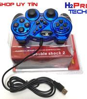 Tay cầm chơi game Vinyson Double Shock 2 chân cắm USB 2.0