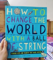 Thanh lý cuốn how to change the world with a ball of string chỉ 79k